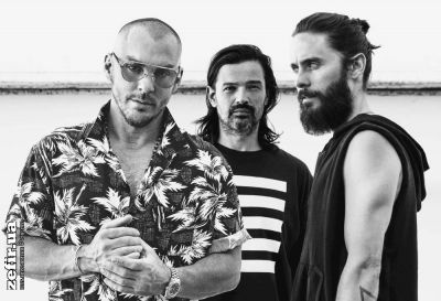 Thirty Seconds to Mars выступят в Киеве во Дворце Спорта